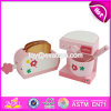 New Products Children Pretend Play Miniature Wooden Toaster Toy W10d154