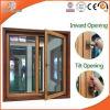 Aluminum Clad Solid Pine Wood Tilt & Turn Window Casement Window, Aluminum Alloy Clad Solid Oak Wood