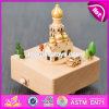 Wonderful Kids Toys Wooden Handmade Music Box W07b044