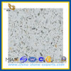 Moeden Colorful Crystal Artificial White Quartz Stone (YQZ-QS1014)