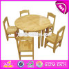 Wholesale High Quality Kindergarten Natural Wood Classroom Tables W08g210