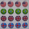 3D Epoxy Resin Domed Labes/Decals/Sticker (LH2216)