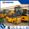 1.5 Ton XCMG Mini Double Drum Road Roller Xmr15s
