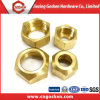 Customized Turning Parts Brass Hex Nut