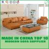 Leisure Office Genuine Leather Sofa Set
