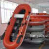 Liya 2m Inflatable Fishing Boat Flat Bottom Boats for Sale