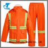 Men′s Reflective Orange Traffic Rain Pants and Jacket