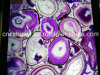 Purple Agate for Marble Top Table