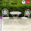 Wrought Iron Garden Table and Chairs with En581 Test