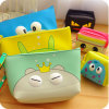 Korean Lovely Large Capacity Cosmetic Bag Creative Waterproof Hand Purse Wallet Cosmetics Package Wash Bag