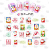 Water Transfer Foil Nail Art Sticker Christmas Snowflake Santa Snowman Tree