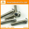 Stainless Steel Socket Screw with Pin Button Head Tamper-Proof