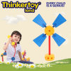 DIY Windmill Model Educational Toys for Children Block Toys