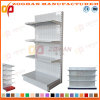 Customized Supermarket Hypermarket Iron Wall Display Shelving Shelf (Zhs572)
