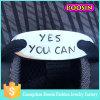 Fashion Custom Metal Oval Blank Shoelace Charm for Shoes