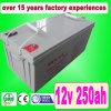 12V 250ah AGM Deep Cycle Solar Battery/UPS Battery