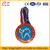 Soft Enamel Metal Souvenir Medal with Ribbon