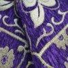 Purple Chenille Color Chenille Sofa Fabric for South American