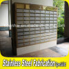 Customized 304 Free Standing Stainless Steel Apartment Postbox