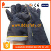 Ddsafety 2017 Black Cow Split Welder Work Gloves