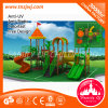Customize Amusement Park Plastic Slide Outdoor Playground Equipment