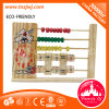 Educational Math Wooden Counting Frame Learning Study Toys