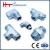 Jic Male 74 Cone Hydraulic Hose Fitting Adapter (AJ)
