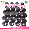 Natural Wavy Natural Color 100% Body Wave Unprocessed Brazilian Virgin Hair