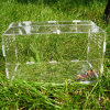 Cage Acrylic Pet Feeding Box Reptiles Pet Box