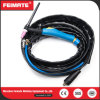 Feimate Most Popular Wp9V Separated Blue Handle TIG Welding Torch for Sale