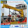 1t@31m Telescopic Boom Marine Crane with ABS, BV, CCS Certificate