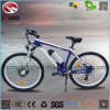 2017 New Front Motor Electric Mountain Bicycle with Suspension