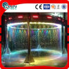 Stainless Steel Round Water Fountain Water Curtain Fountain