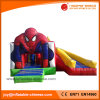 Spiderman Inflatable Combo Jumping Boucer with Slide (T3-311)