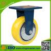 Hand Trolley PU Cast Iron Wheel Industrial Caster