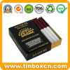 Rectangular Cigarette Tin with Sliding Cover, Slide Tin Box
