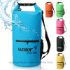 High Quality Waterproof Dry Bag with Zipper Pocket Shoulder Strap