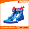 Inflatable Double Wave Water Slide for Kids with Pool (T11-108)