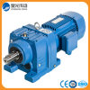 R Series Helical Bevel Gear Box/Gearbox with Motor
