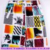 2017 Beachwear New Printing Patten on Polyester Peach Skin