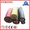 Rubber Power Control Tower Crane/Freight Elevator/Construction Lift Flexible Wear - Resisting/ Bending-Resistance Cable