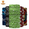 Christmas Gifts Sublimation Printing Microfiber Seamless Tubular Red Bandana Headwear
