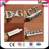 Manufacturer Wholesale Silver Letter Zinc Alloy Metal Plate
