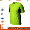 High Visibility Neon Green Fluorescent Safety Work Plain T-Shirt