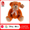 Orange Craft Plush Jointed Teddy Bears with Bow Supplier