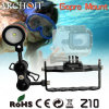 Archon Z10 Adjustable Diving Gopro Mount, Gopro Hero 3 Mount for Diving Flashlight