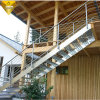 304 316 Pure Stainless Steel Stair Railing for Project