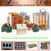 Full Automatic Concrete Hollow Block Making Machine Qt8-15