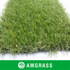 Fibrillated Synthetic Grass and Lawn for Garden