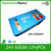 24V 600ah Battery for Family Solar System with BMS
